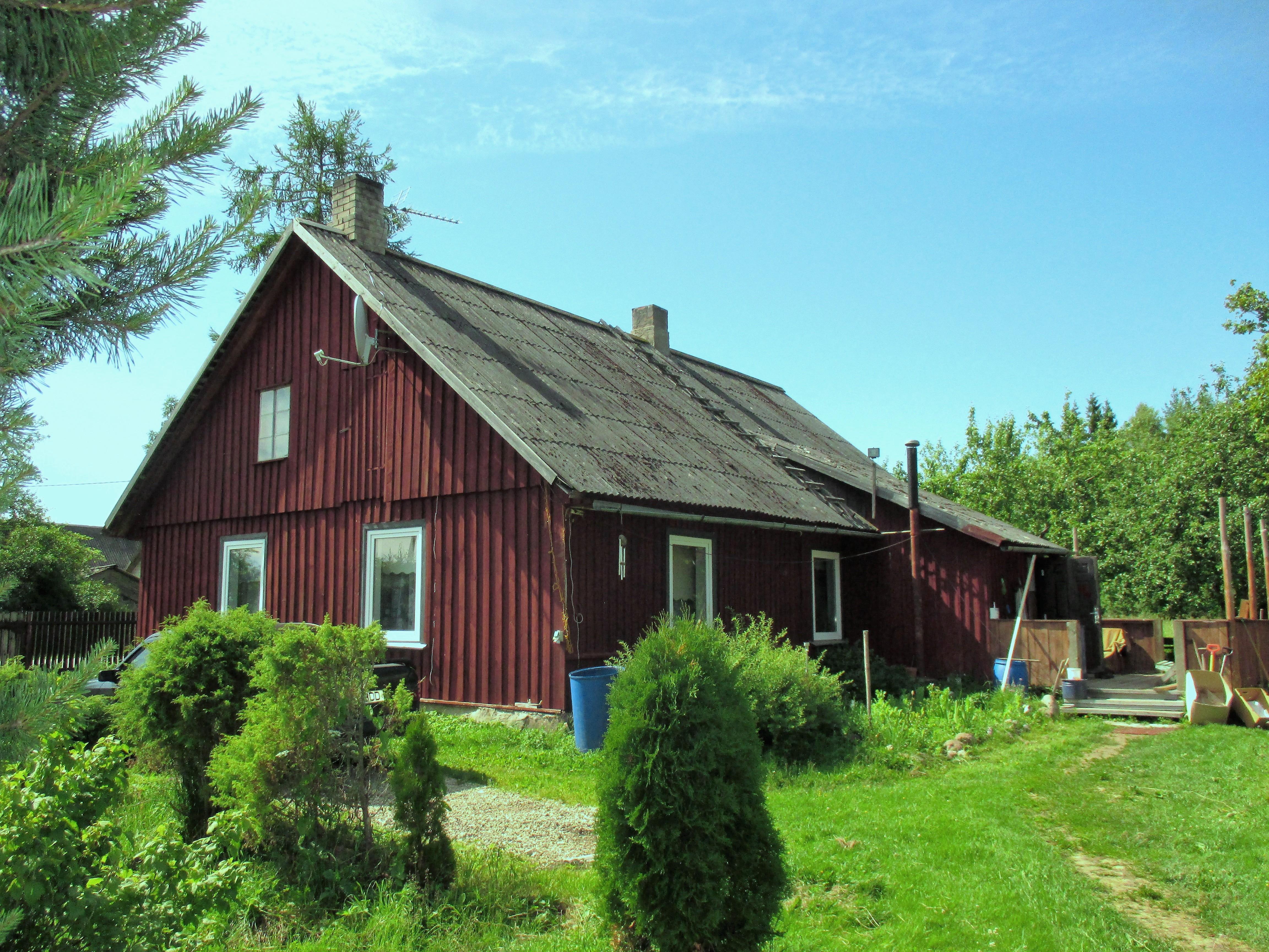 Müüa talu, asukoht Tali