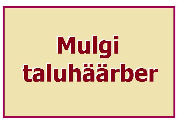 Mulgihäärber