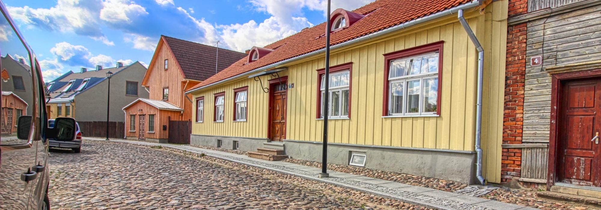 Maja Viljandi südalinnas